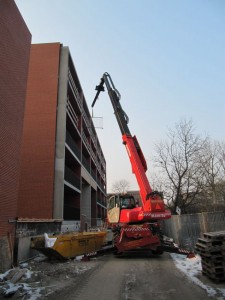 2 km balkon railing plaatsen stad groningen